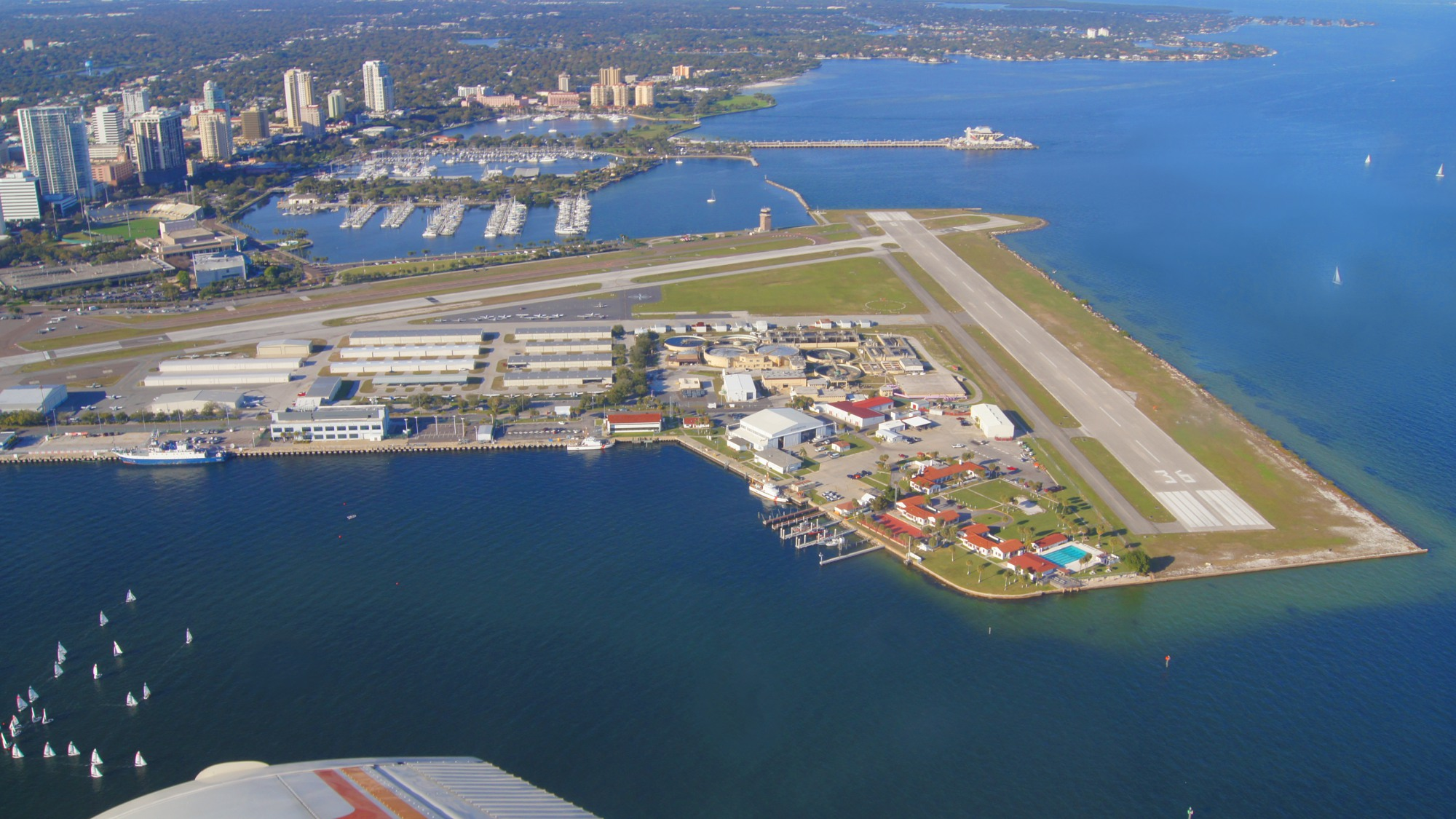 Aerial View Of Albert Whitted Airport
