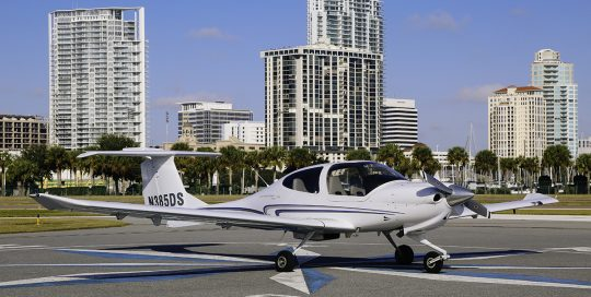 2006 Diamond Star DA40 N385DS