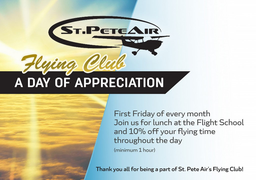 St. Pete Air Aviation Services flyer WEB